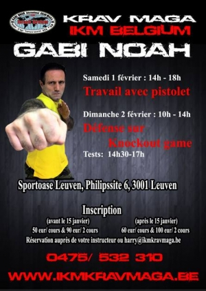 Stage International de Krav Maga - Gabi Noah